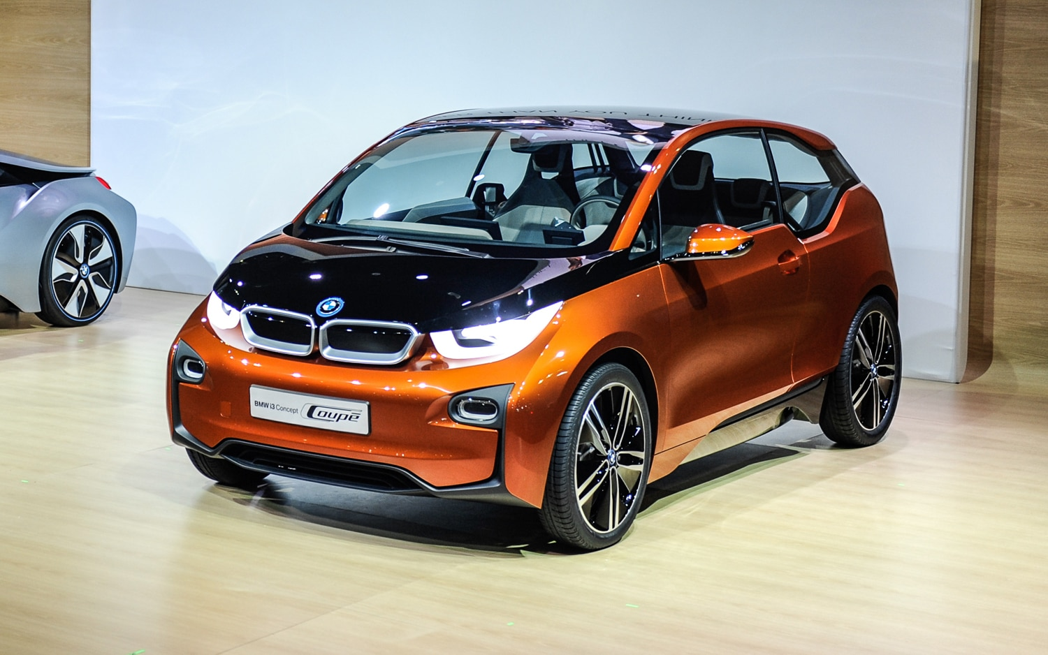 2012 los angeles bmw i3 loses two doors reborn as i3 concept coupe. Black Bedroom Furniture Sets. Home Design Ideas