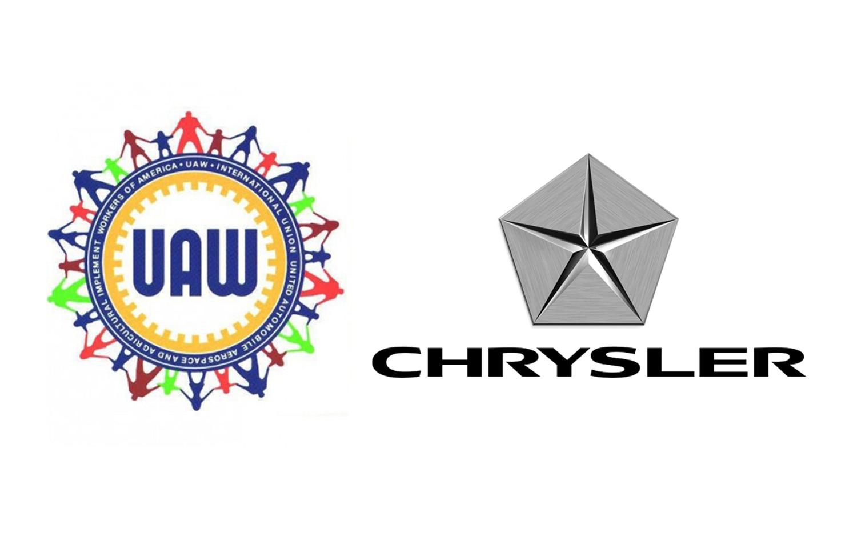 Chrysler And UAW Logos