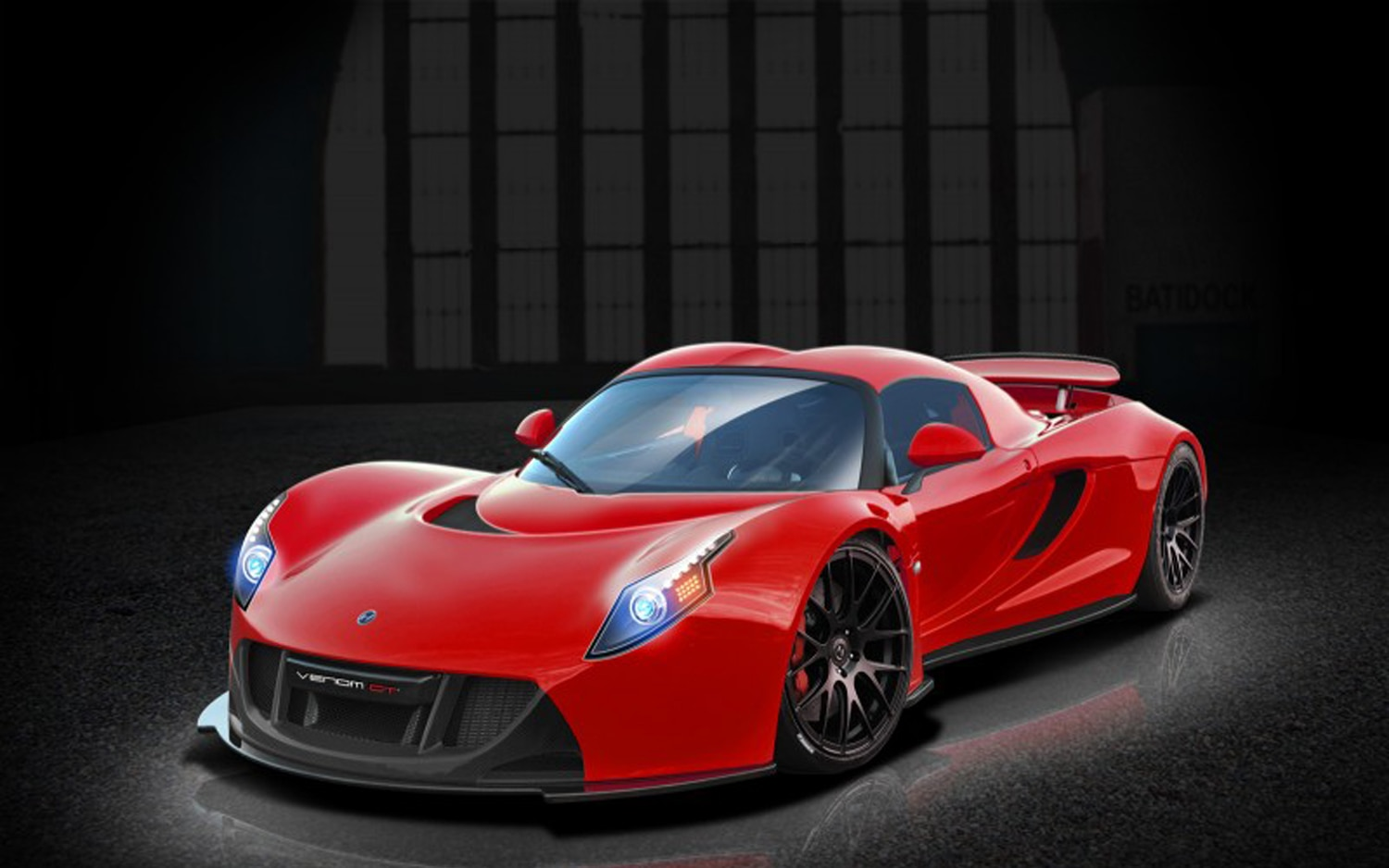 Hennessey Venom GT2 Front Three Quarter Red1
