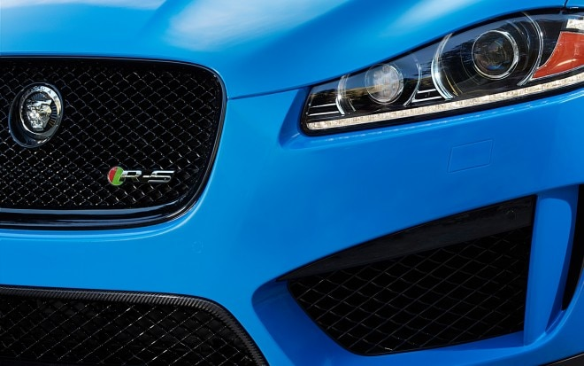 Jaguar XFR S Teaser Close1 660x413