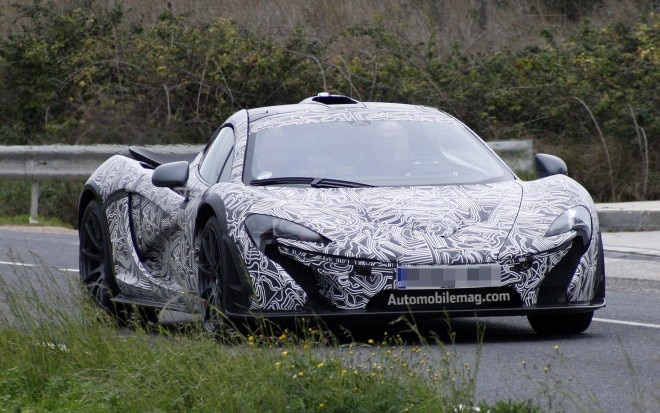McLaren P1 Front Three Quarter Spied1 660x413