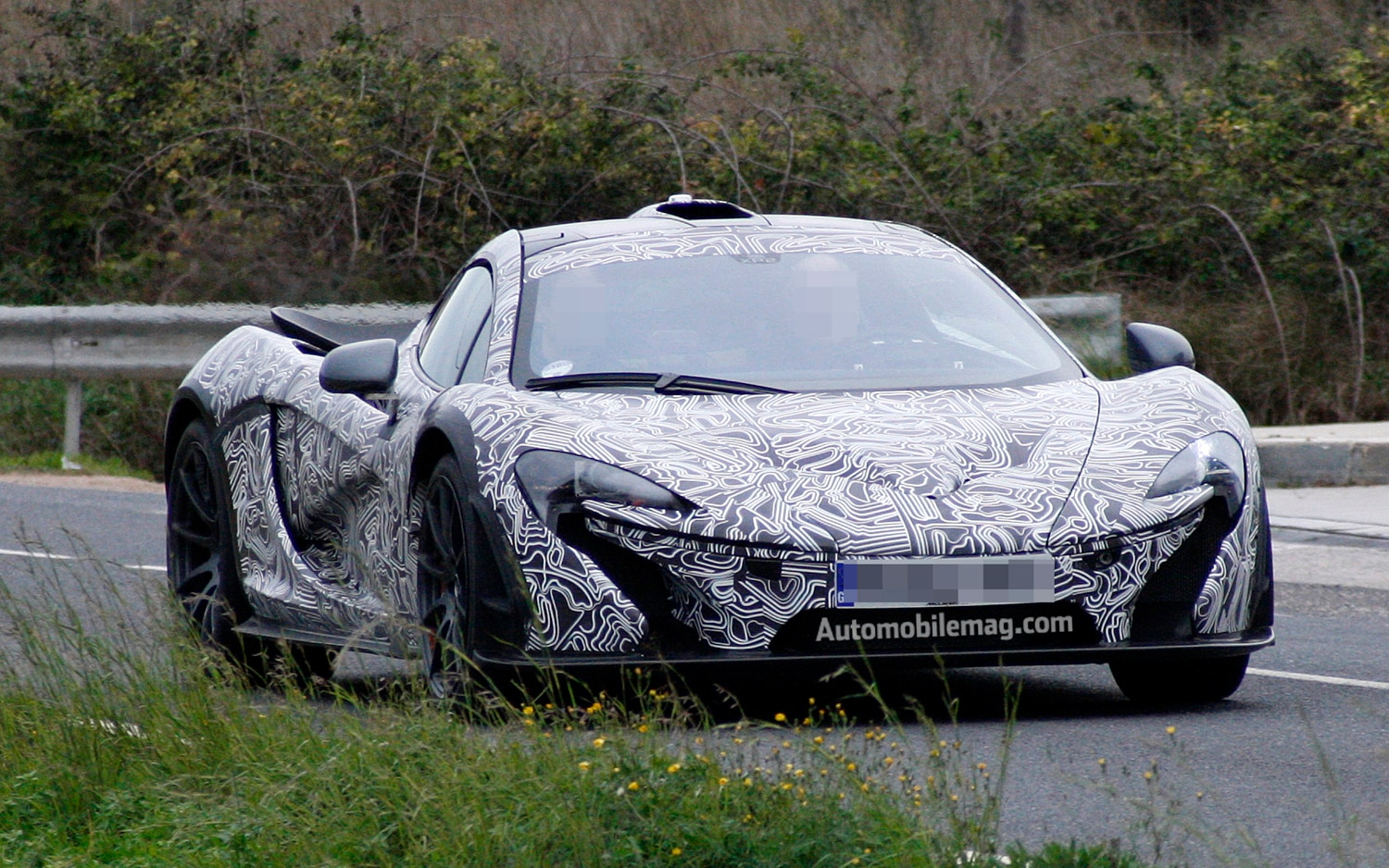 McLaren P1 Front Three Quarter Spied1