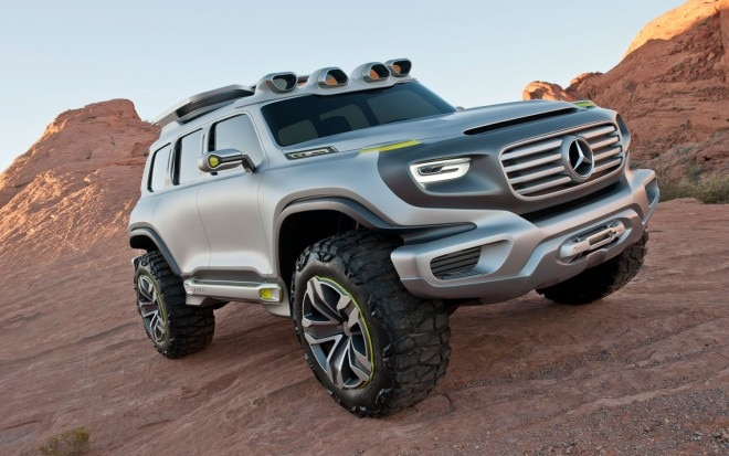 Mercedes Benz Ener G Force Concept Front Passengers Side 660x413