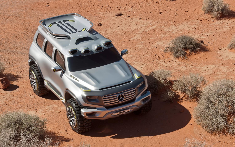 Mercedes Benz Ener G Force Concept Front Three Quarter Above1