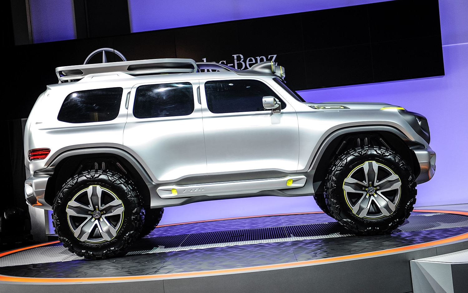 Mercedes Benz Ener G Force Concept Side View1