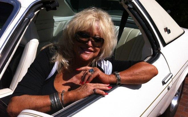 Miss Hurst Golden Shifter In Her Vintage 1975 Hurst Olds 660x413