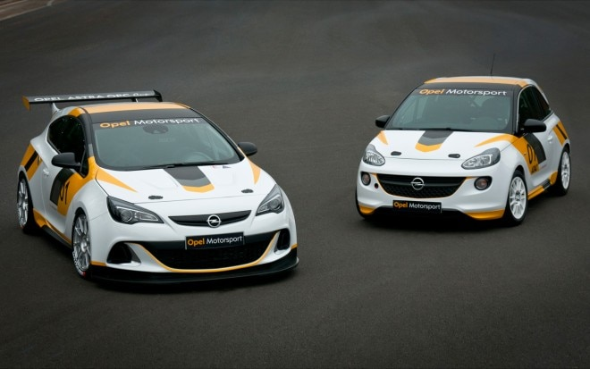 Opel Adam Cup Rally Car And Astra OPC Cup1 660x413