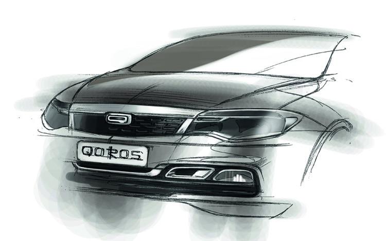 Qoros Sketch Front1