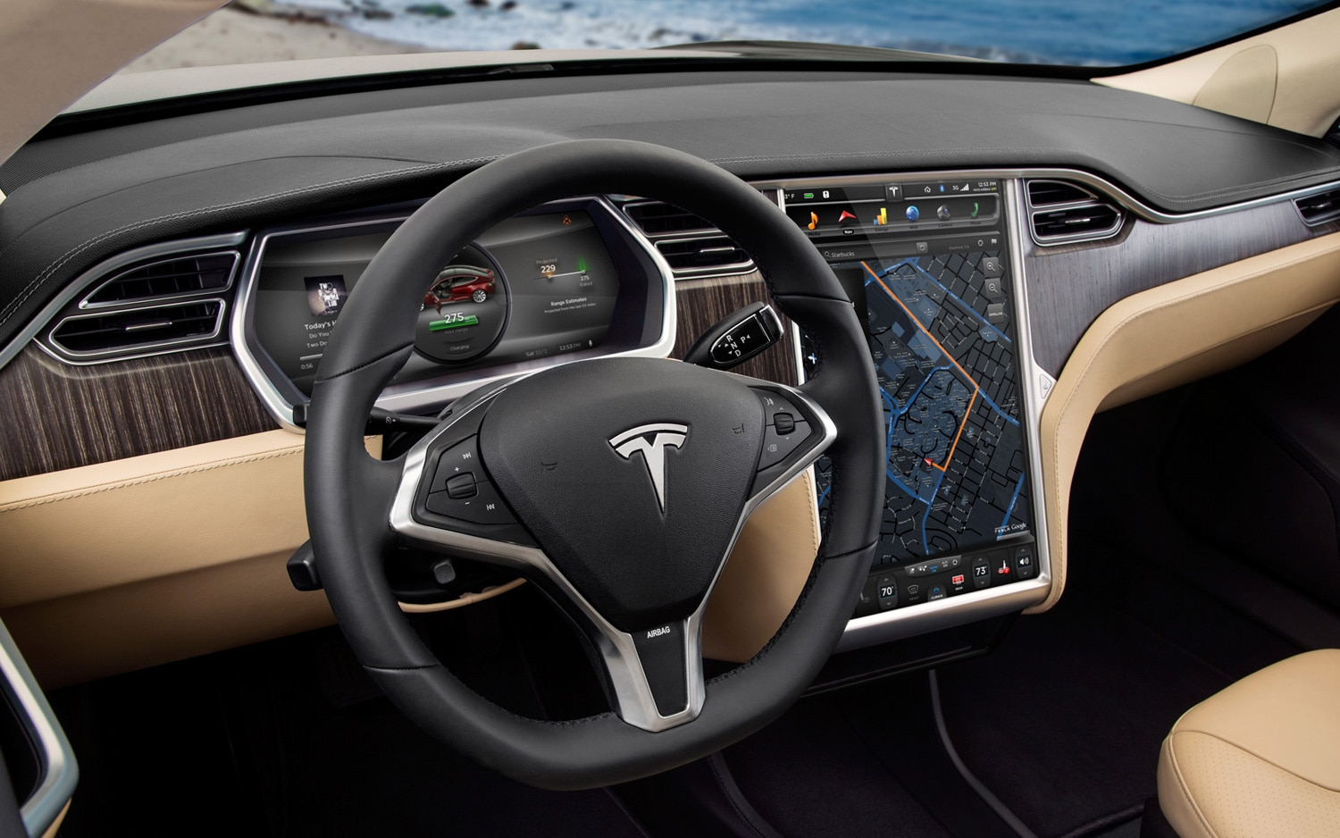 Automobile Of The Year Tesla Model S Automobile Magazine