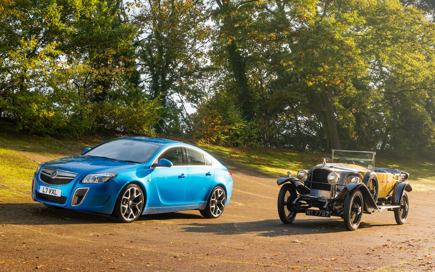 Vauxhall Insignia VXR SuperSport And 1926 Vauxhall 30 98 11