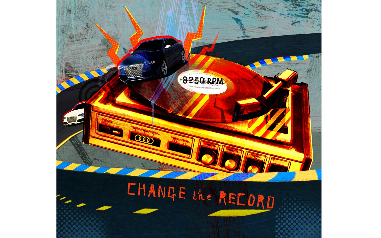 Change The Record Illustration Cropped
