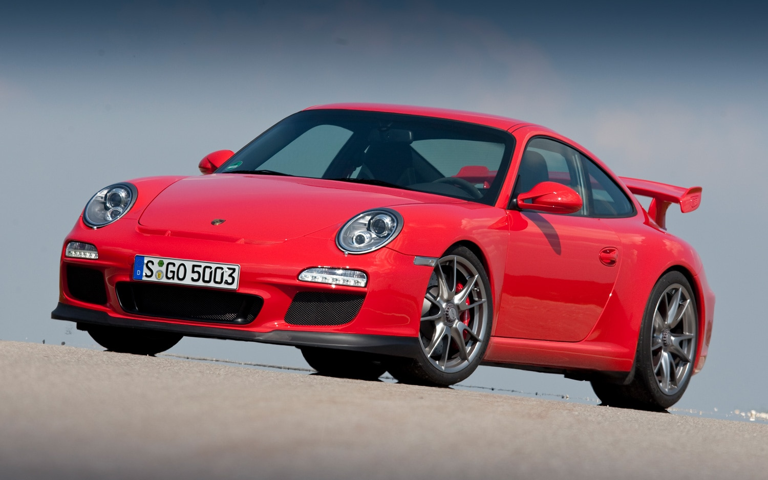 2010 Porsche 911 GT3 Front Three Quarter1