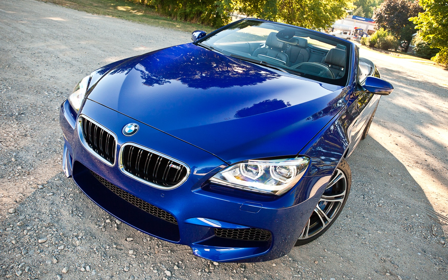 2012 BMW M6 Convertible Front End1