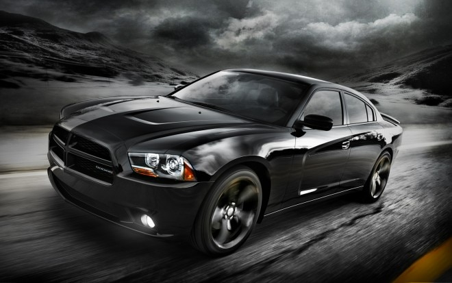 2012 Dodge Charger Blacktop Front Three Quarter1 660x413