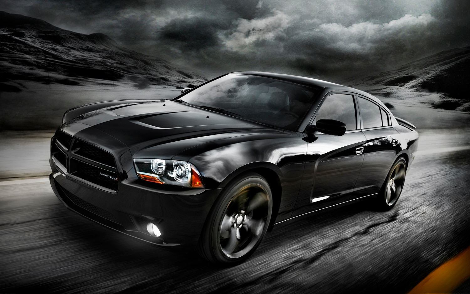 2012 Dodge Charger Blacktop Front Three Quarter1