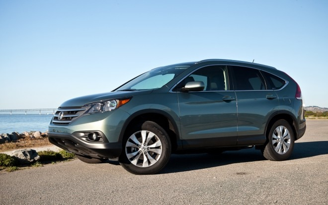 2012 Honda CR V AWD EX L NAV Left Side View1 660x413