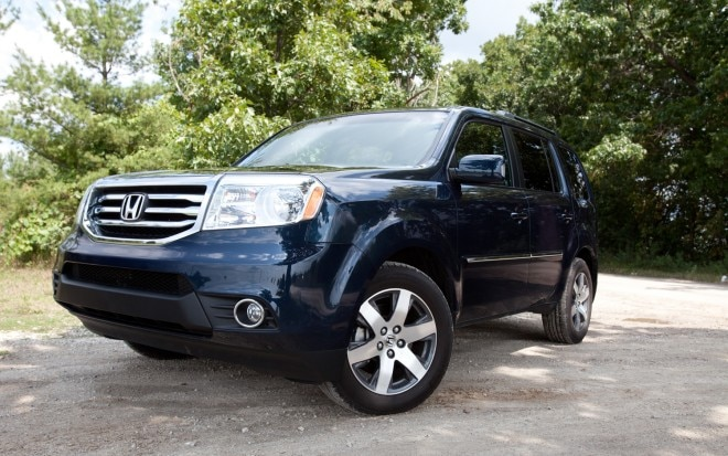 2012 Honda Pilot Touring Front Left View1 660x413