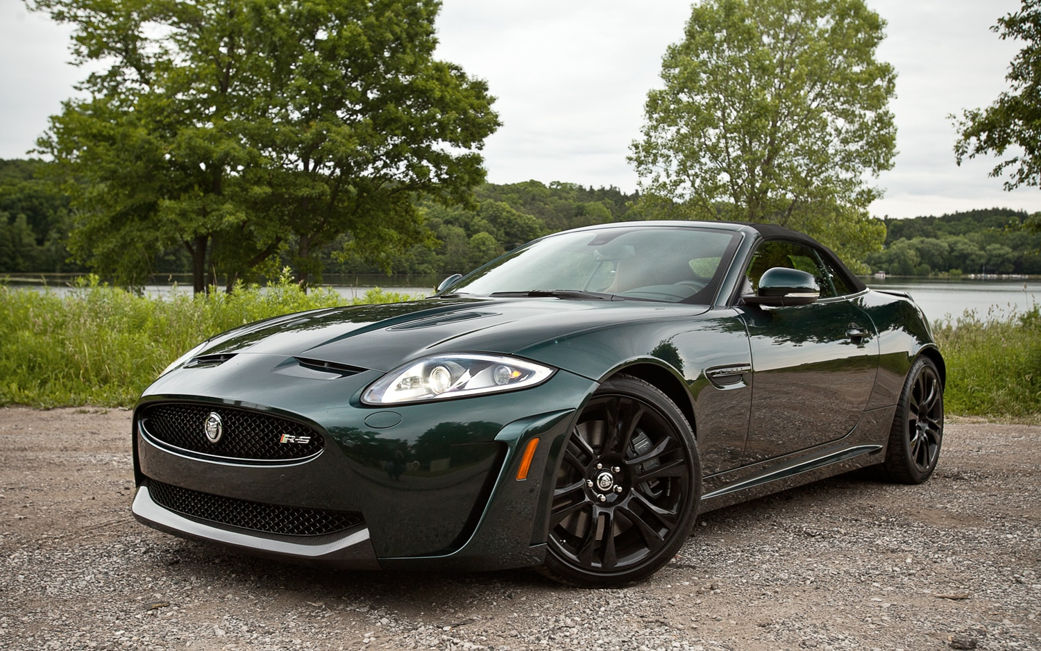 2012 Jagaur XKR S Convertible Front Left View1