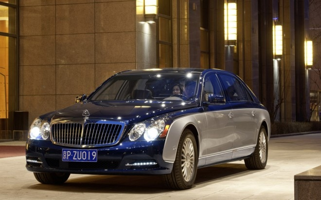 2012 Maybach 62 Front Three Quarter11 660x413