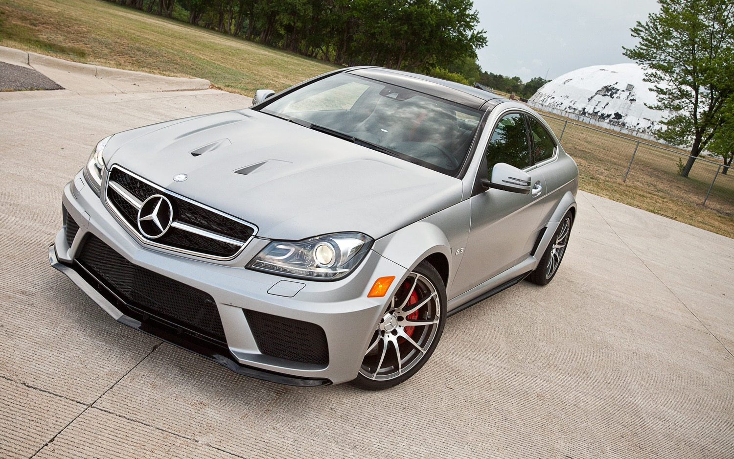 2012 Mercedes Benz C63 AMG Coupe Black Series Front Left View1
