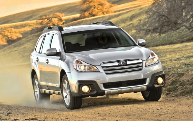 2012 Subaru Outback Front Three Quarter1 660x413