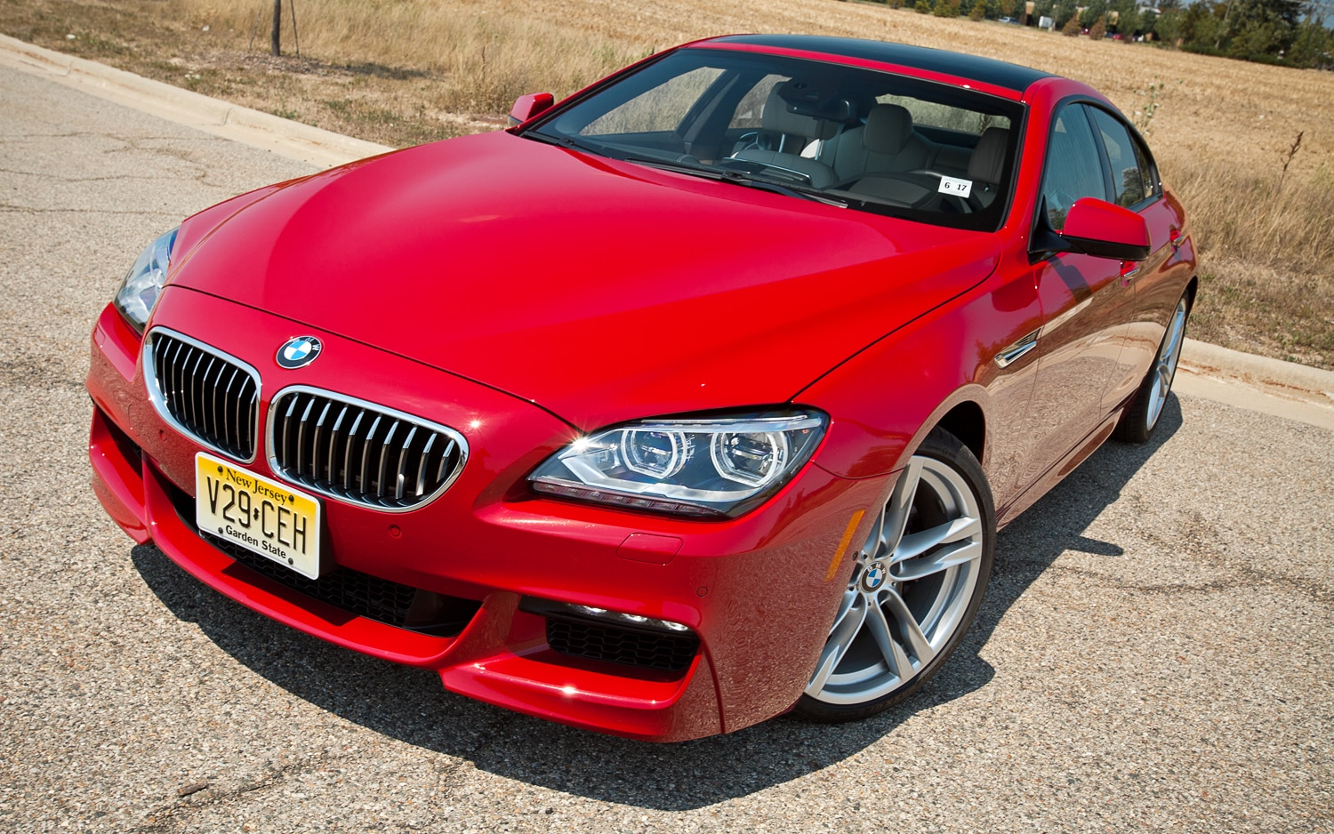 2013 BMW 640i Gran Coupe Front View1