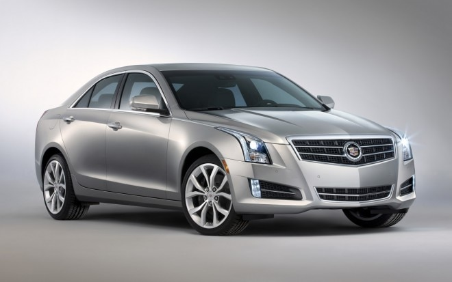 2013 Cadillac ATS Front Three Quarter1 660x413
