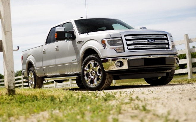 2013 Ford F 150 Lariat Front Three Quarter1 660x413
