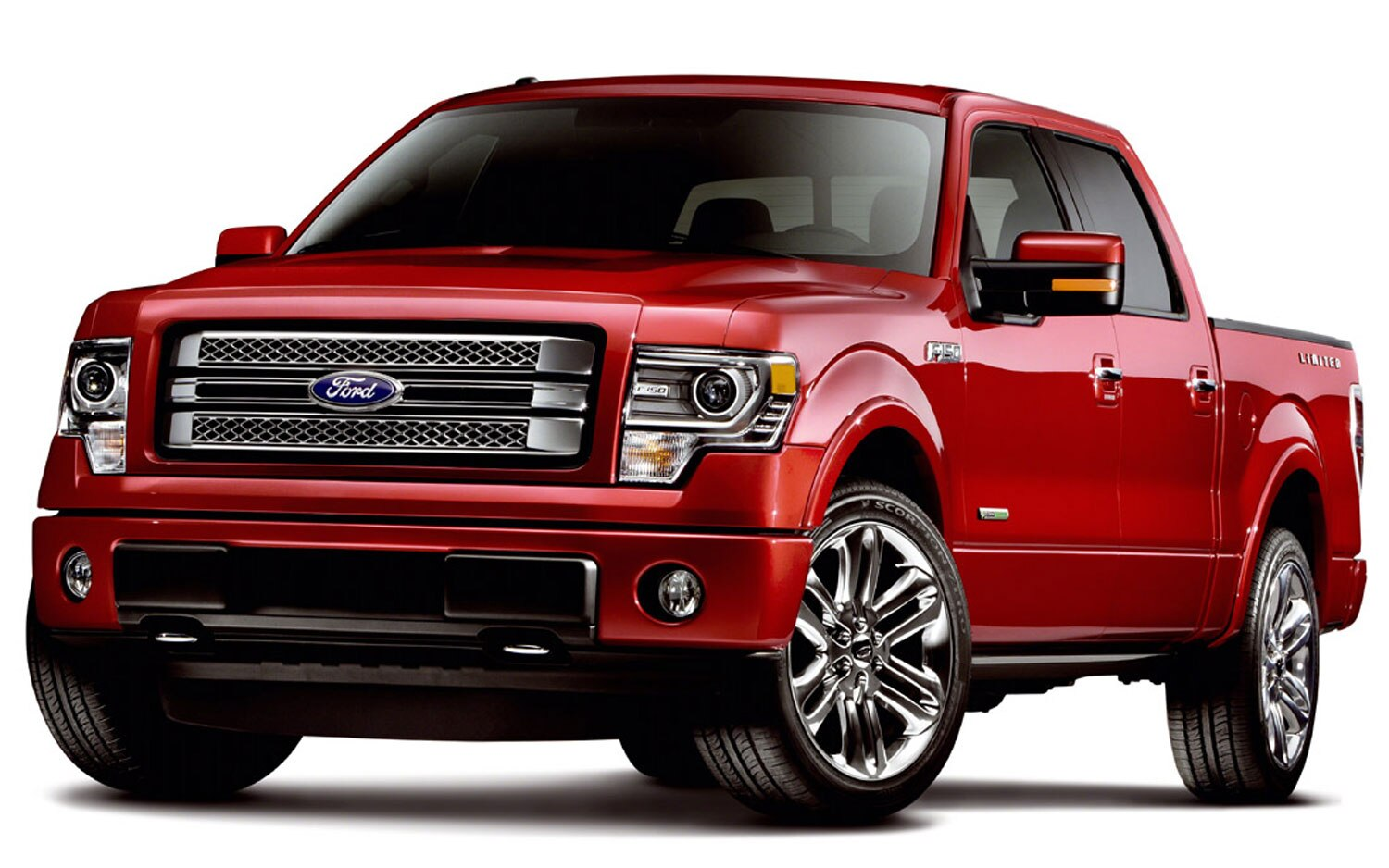 2013 Ford F150 Limited Front Angle1