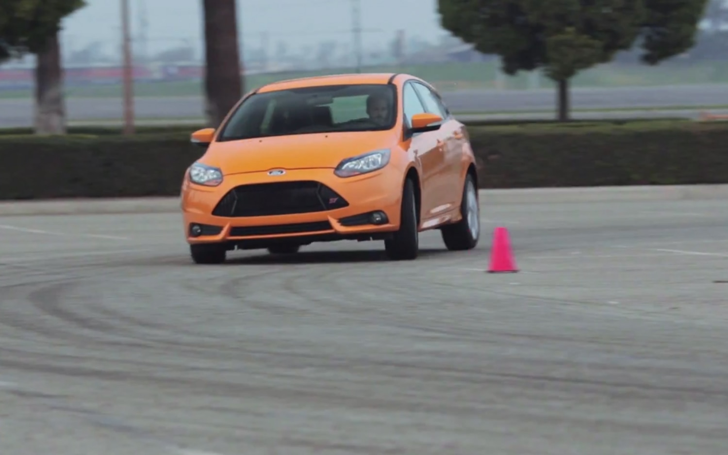 2013 Ford Focus ST Around Figure Eight Course1