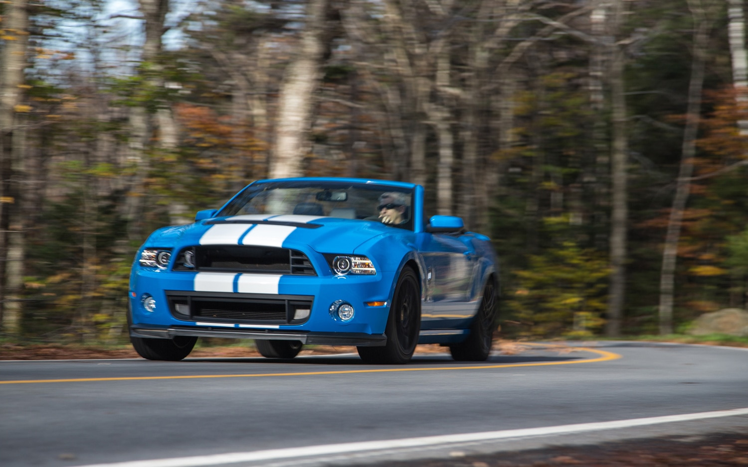 2013 Ford Shelby GT500 Front End In Motion1