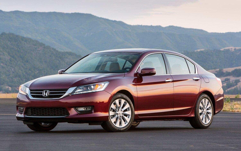 2013 Honda Accord EX L V 6 Sedan Front Three Quarter1