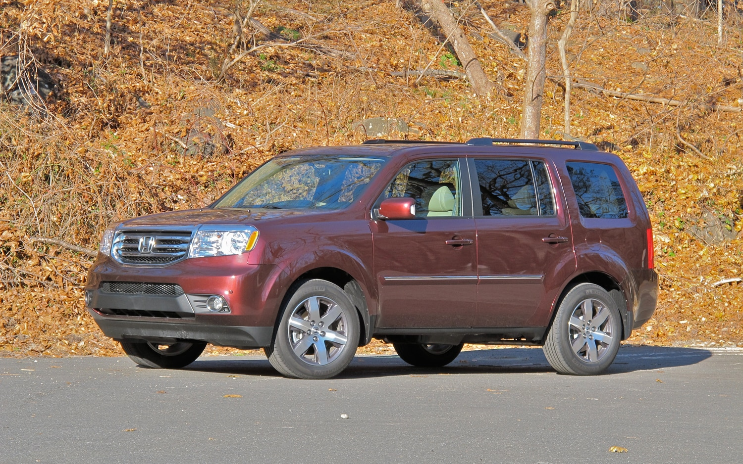 2013 Honda Pilot Front Left Side View1