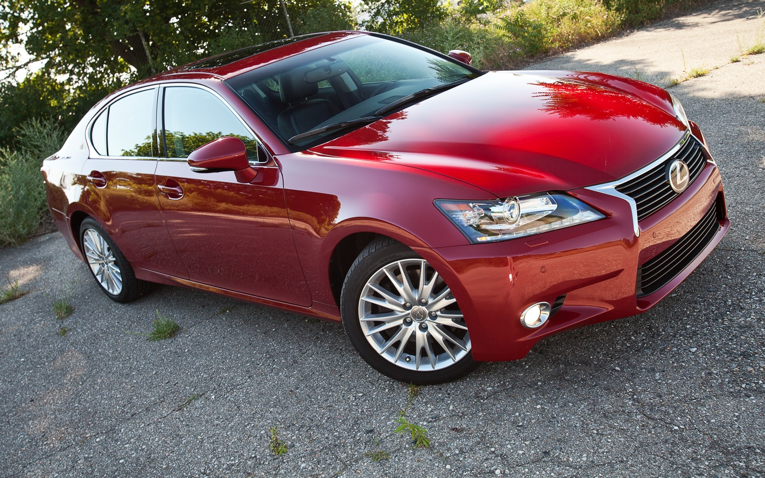 2013 Lexus GS350 AWD Front Right Side View1