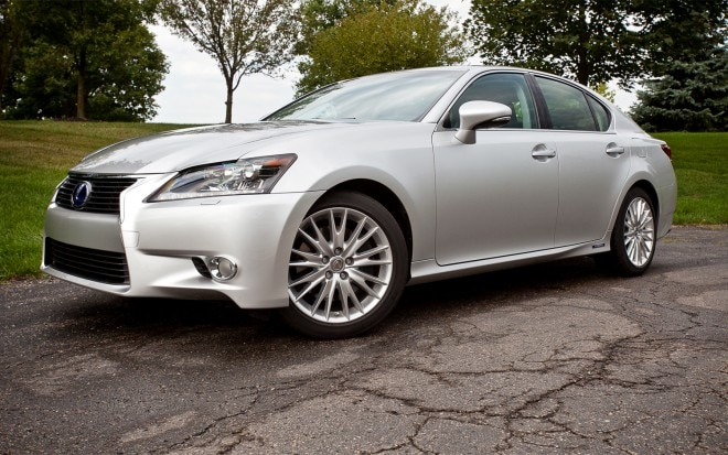 2013 Lexus GS450h Front Left Side View1 660x413