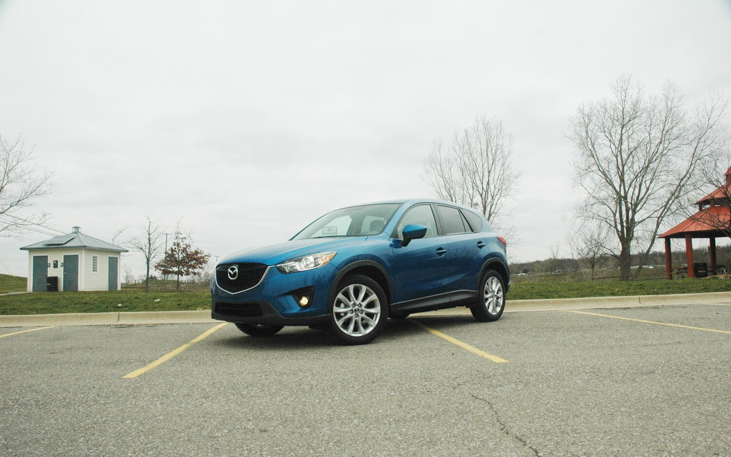 2013 Mazda CX 5 Front Left View1