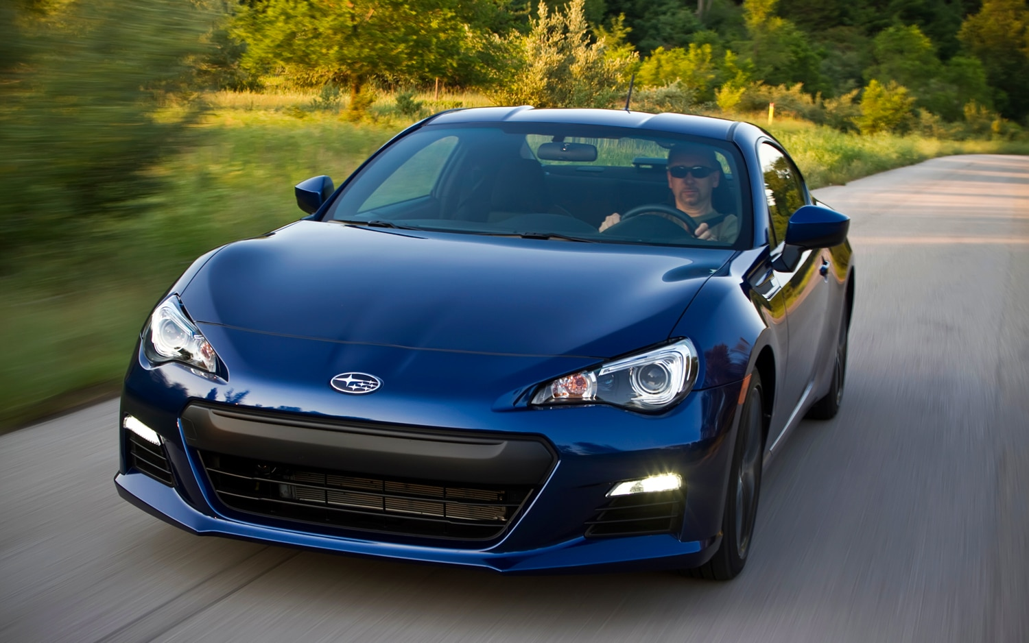 2013 Subaru BRZ Front Left View1