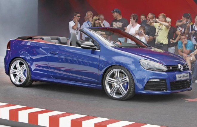2013 Volkswagen Golf R Cabriolet Side View At Show1 660x426