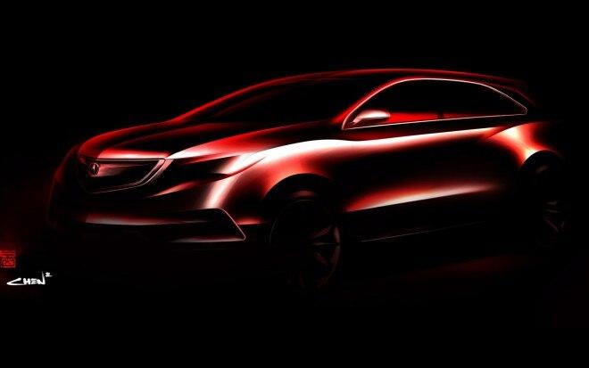 2014 Acura MDX Concept Teaser 660x413