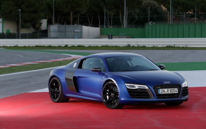 2014 Audi R8 V10 Plus Front Three Quarter 11 660x413