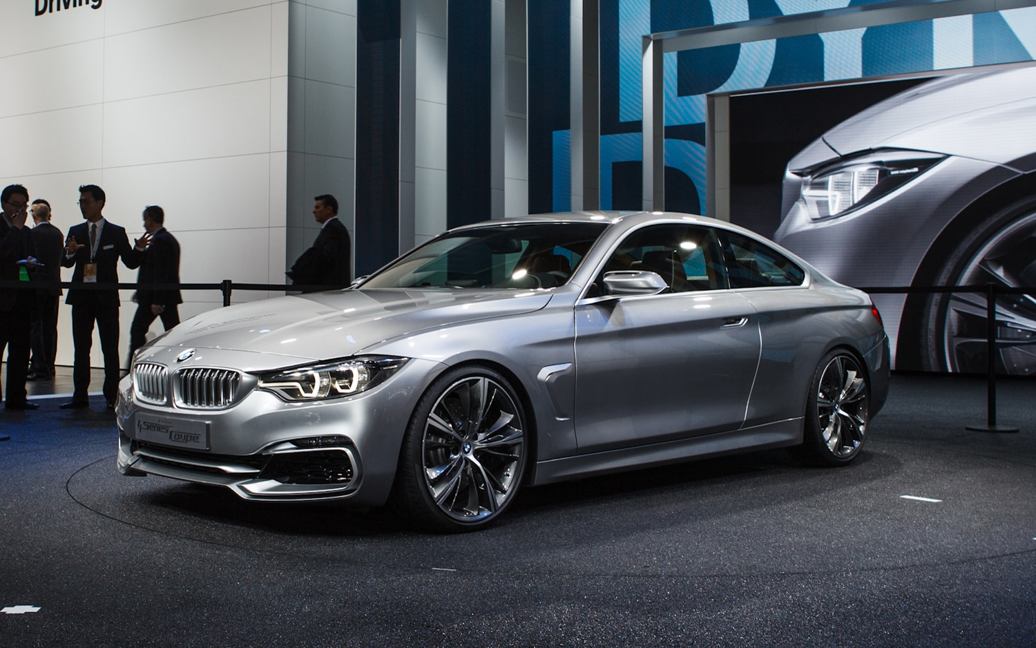 2014 BMW 4 Series Coupe Concept Front Left Side View 21