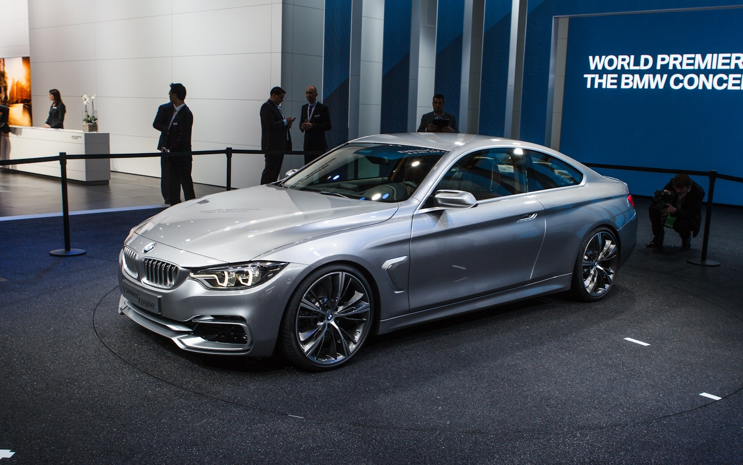 First look bmw 4 series coupe concept automobile magazine with the outgoing 3 coupe bmw sciox Choice Image
