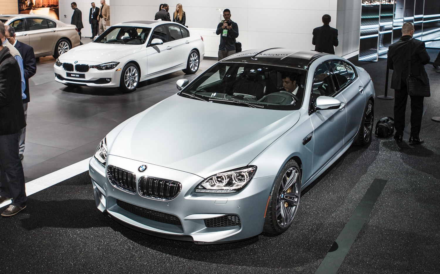 2014 BMW M6 Gran Coupe Front End 21