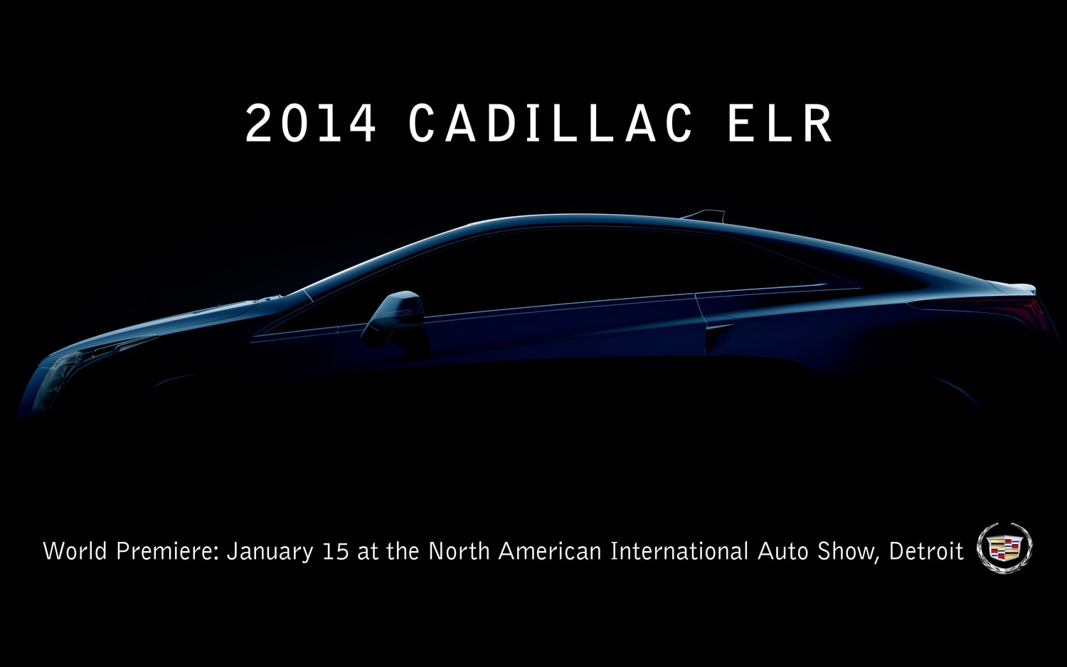 2014 Cadillac ELR Teaser With Text1