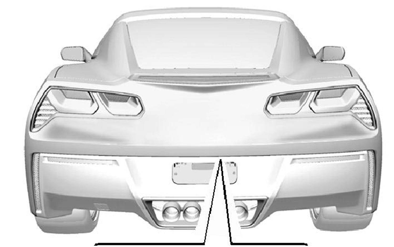 2014 Chevrolet Corvette Rear Rendering1