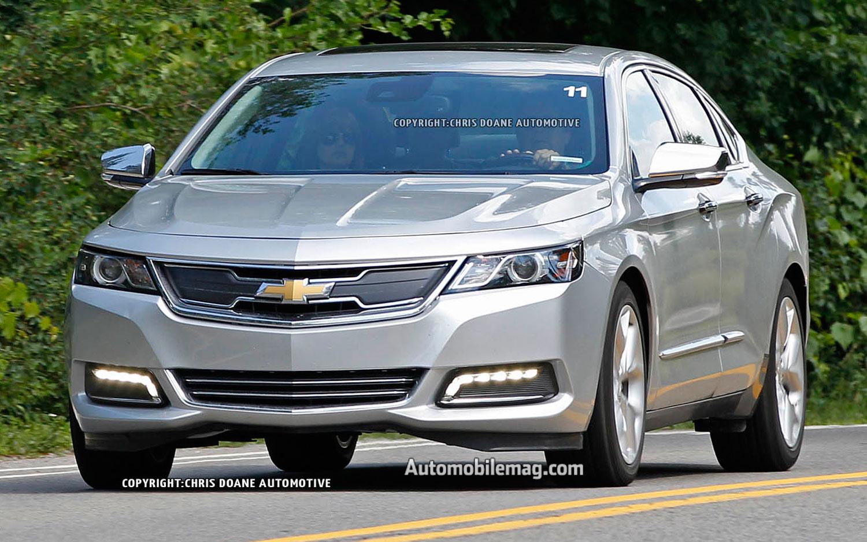 2014 Chevrolet Impala Eco Hybrid Prototype Front View 2
