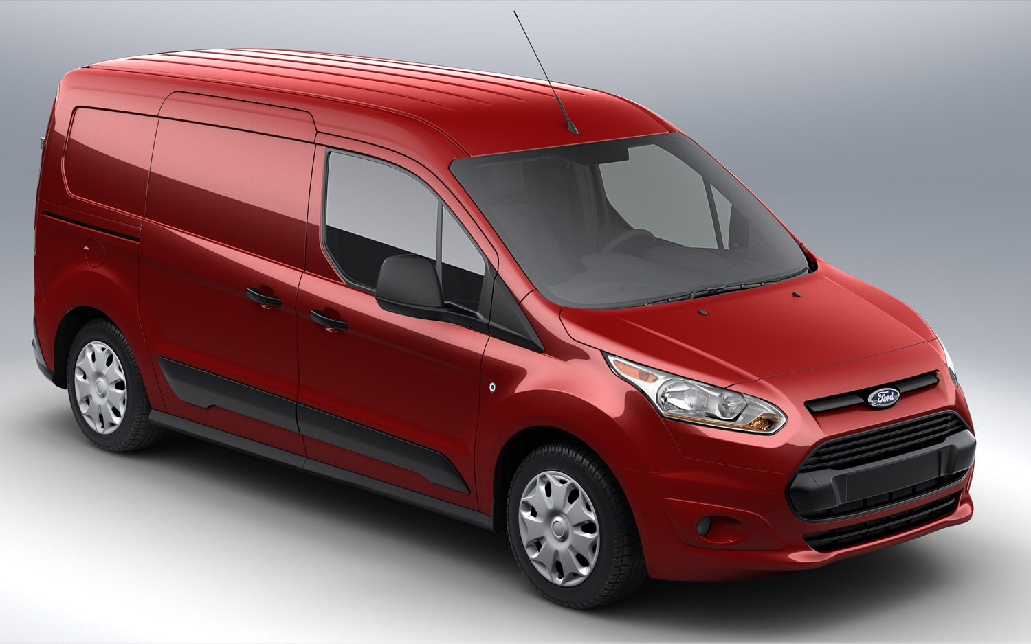 2014 Ford Transit Connect Red Front Three Quarter 21