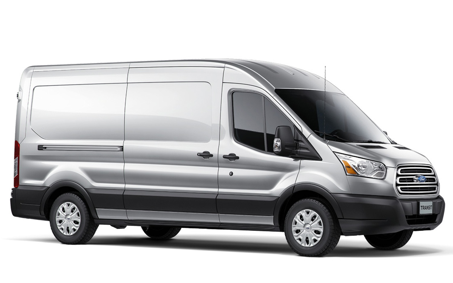 2014 Ford Transit Front Three Quarters View1