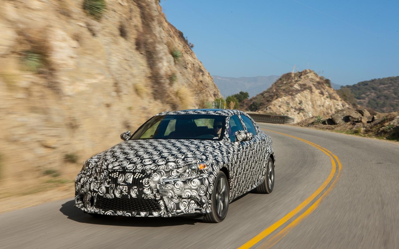 2014 Lexus IS 350 F Sport Prototype Front Left View 31