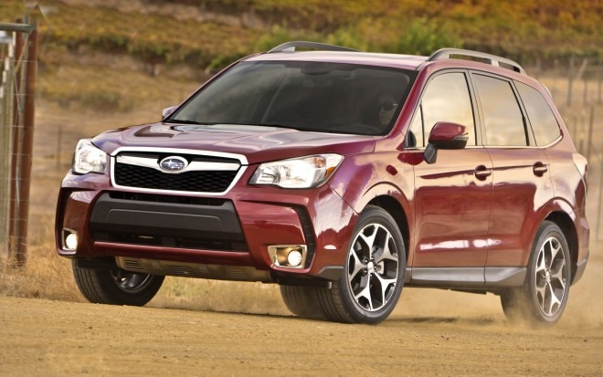 2014 Subaru Forester Prototype Front Left View 51 660x413